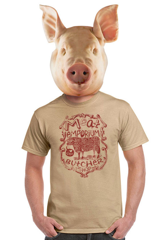 meat emporium butcher t-shirt