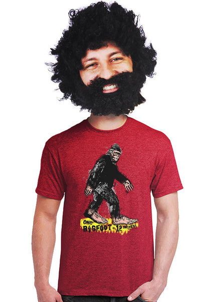 12 inches equals 1 bigfoot unisex t-shirt