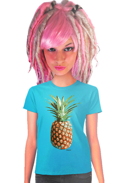 pineapple womens t-shirt