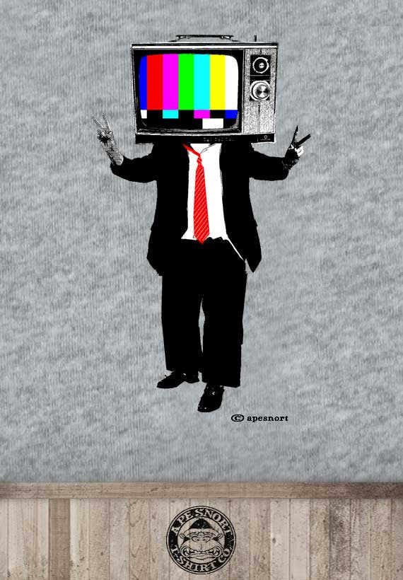 television head unisex t-shirt