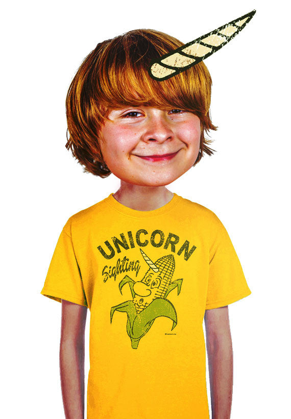 real unicorn kids t-shirt