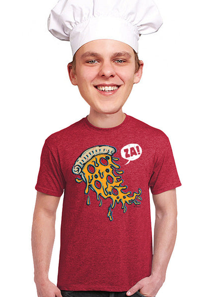 pizza za t-shirt