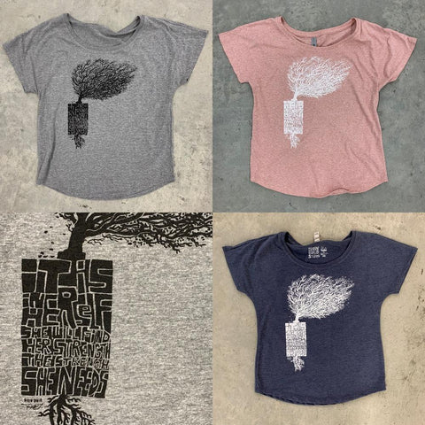"Women's ""Her Strength"" (Relaxed Fit) - 3 colors"