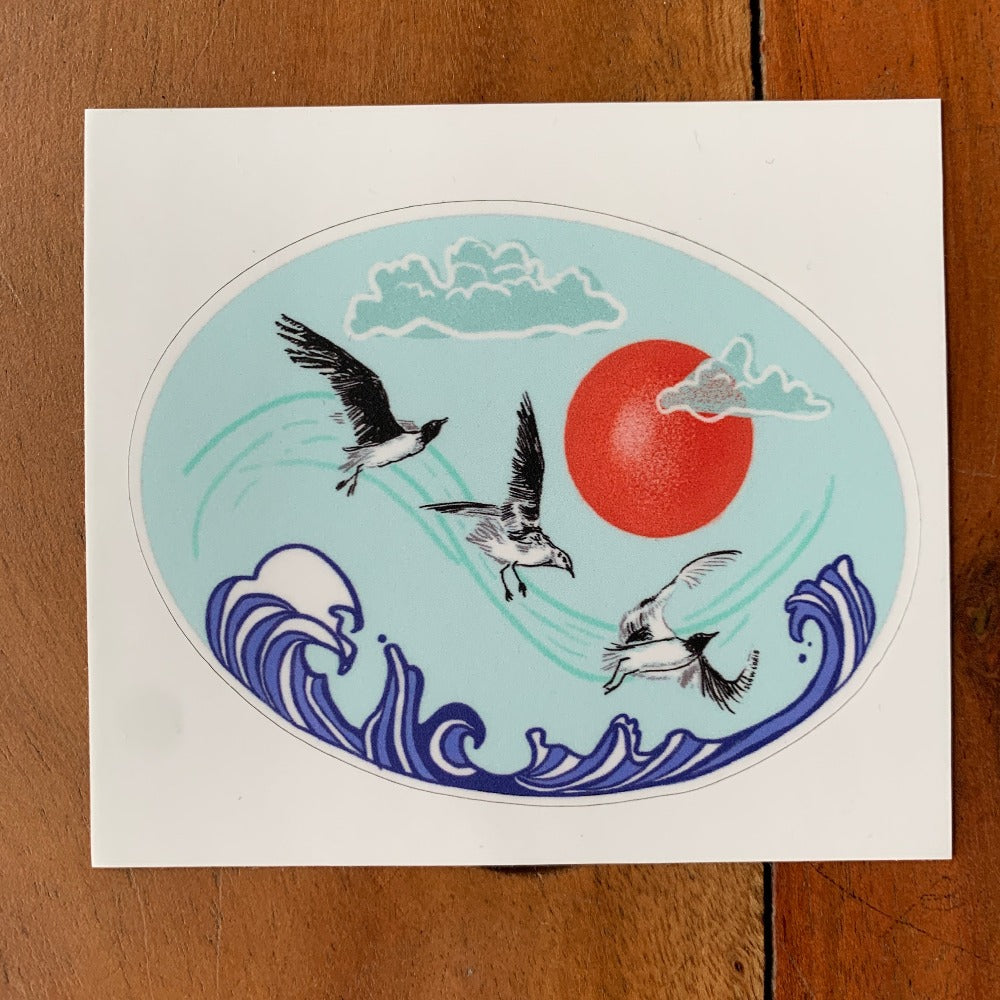 Seabirds Sticker