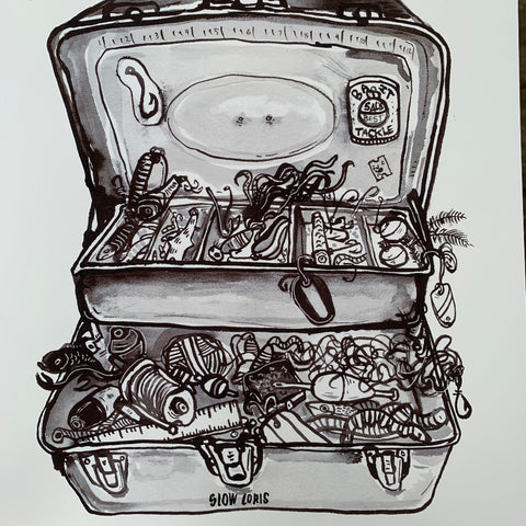Tackle box Print