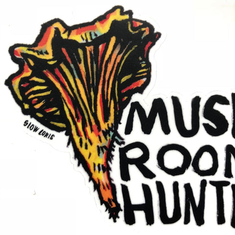 Mushroom Hunter Sticker