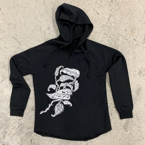 Monstera Plant Pullover Hoodie