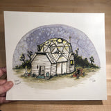 Original Painting, Dome Land