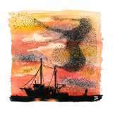 Red Sky at Night Print