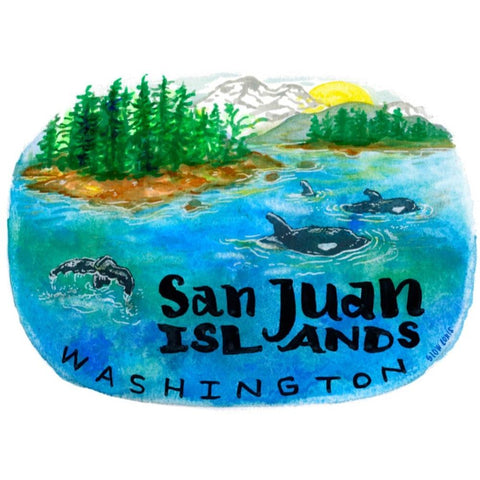 San Juan Islands Sticker
