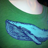Ladies' Blue Whale (Fitted)