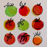 Nine Little tomatoes Print