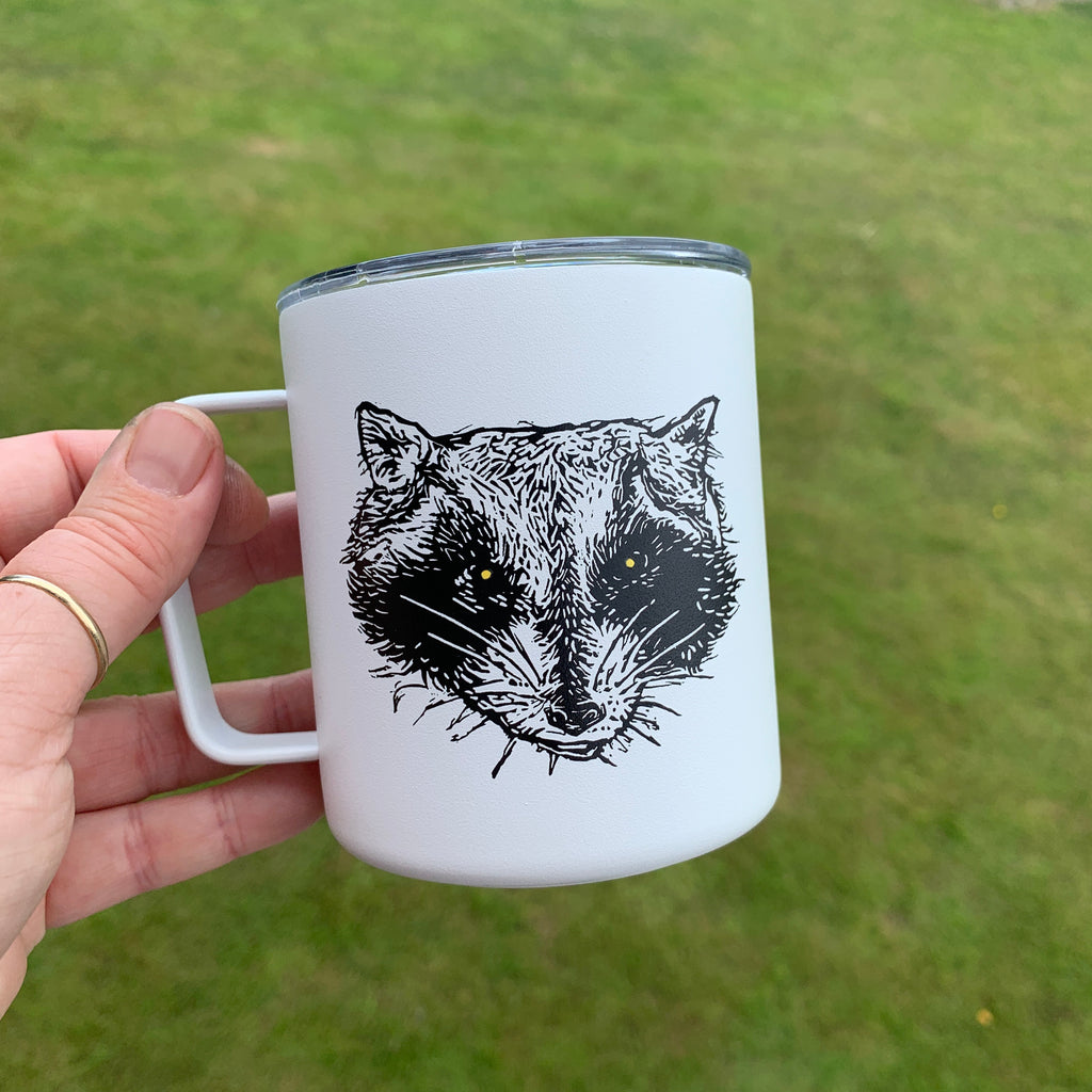 Raccoon Camp Mugs