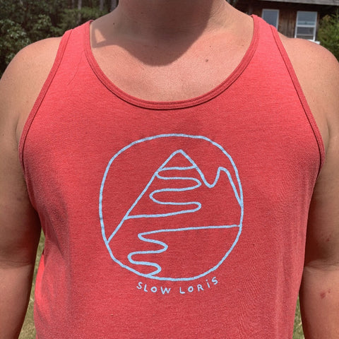 Mountain Hug Tank (Red)
