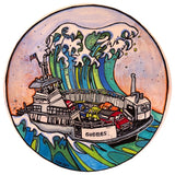 Tsunami Ferry Sticker