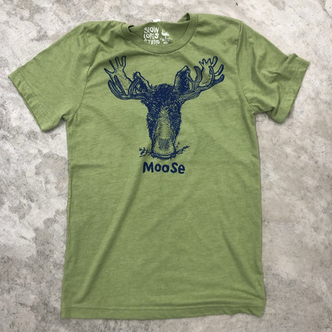 Moose on green