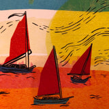 Sunset Sail Print