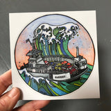 Tsunami Ferry Decal