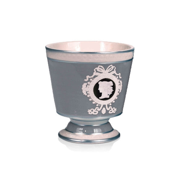SEDA FRANCE Astor Cameo Ceramic Two-Wick Candle