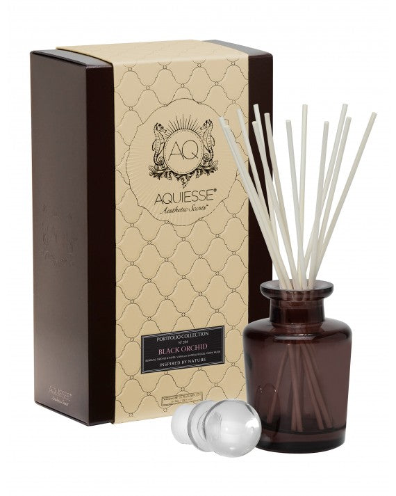 AQUIESSE BLACK ORCHID~APOTHECARY REED DIFFUSER GIFT SET