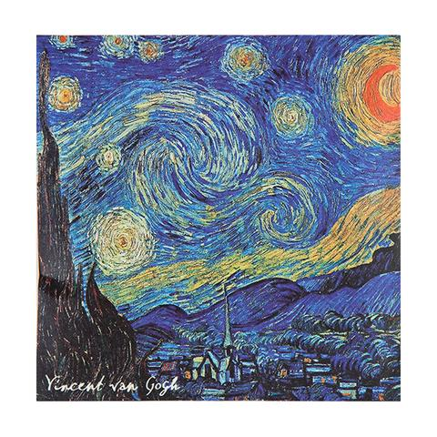 EUROPEAN SOAPS - VAN GOGH STARRY NIGHT SACHET - JASMINE
