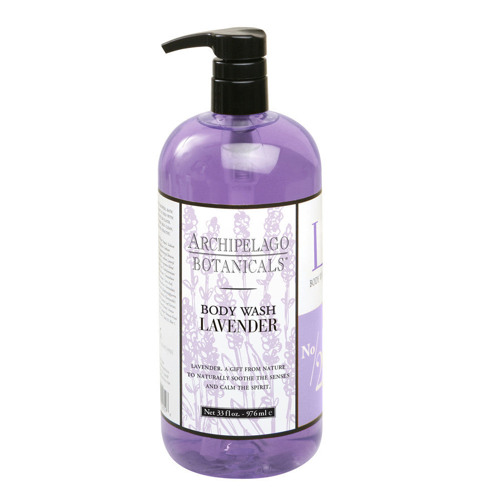 ARCHIPELAGO 33OZ. LAVENDER BODY WASH