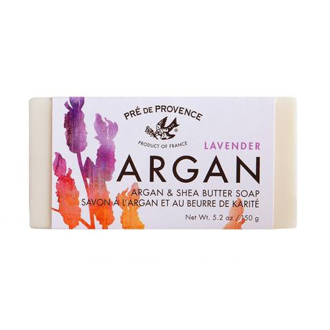 EUROPEAN SOAPS ARGAN AND SHEA BUTTER LAVENDER SOAP