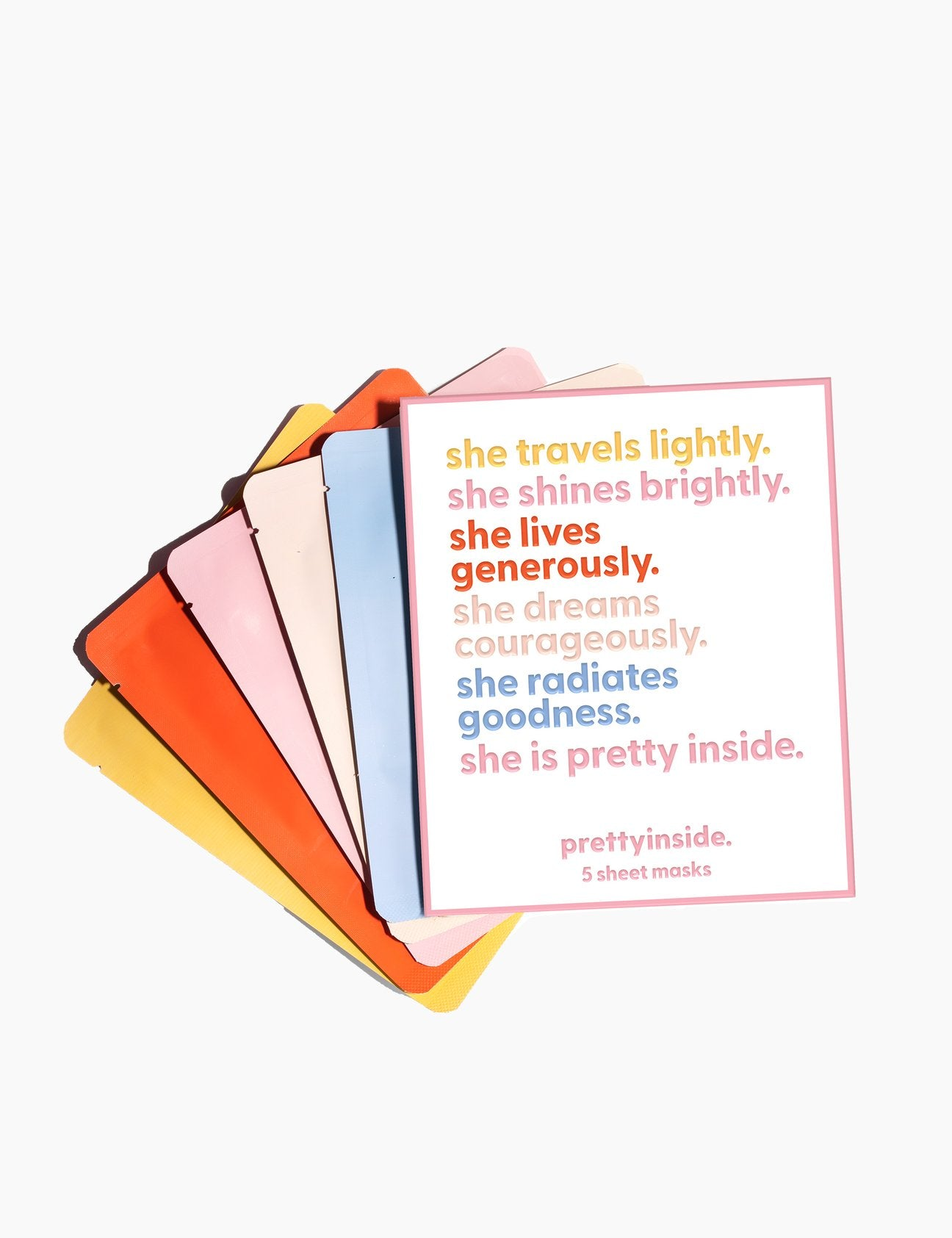 PRETTY INSIDE ALL THE WORKS 5 PACK