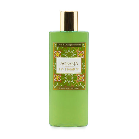 AGRAGIA - Lime & Orange Blossoms Bath & Shower Gel