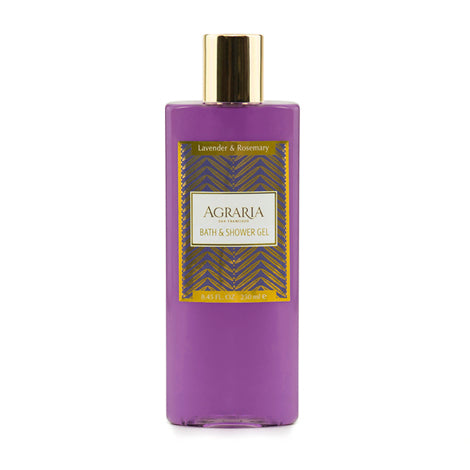 AGRARIA , Lavender & Rosemary Bath & Shower Gel