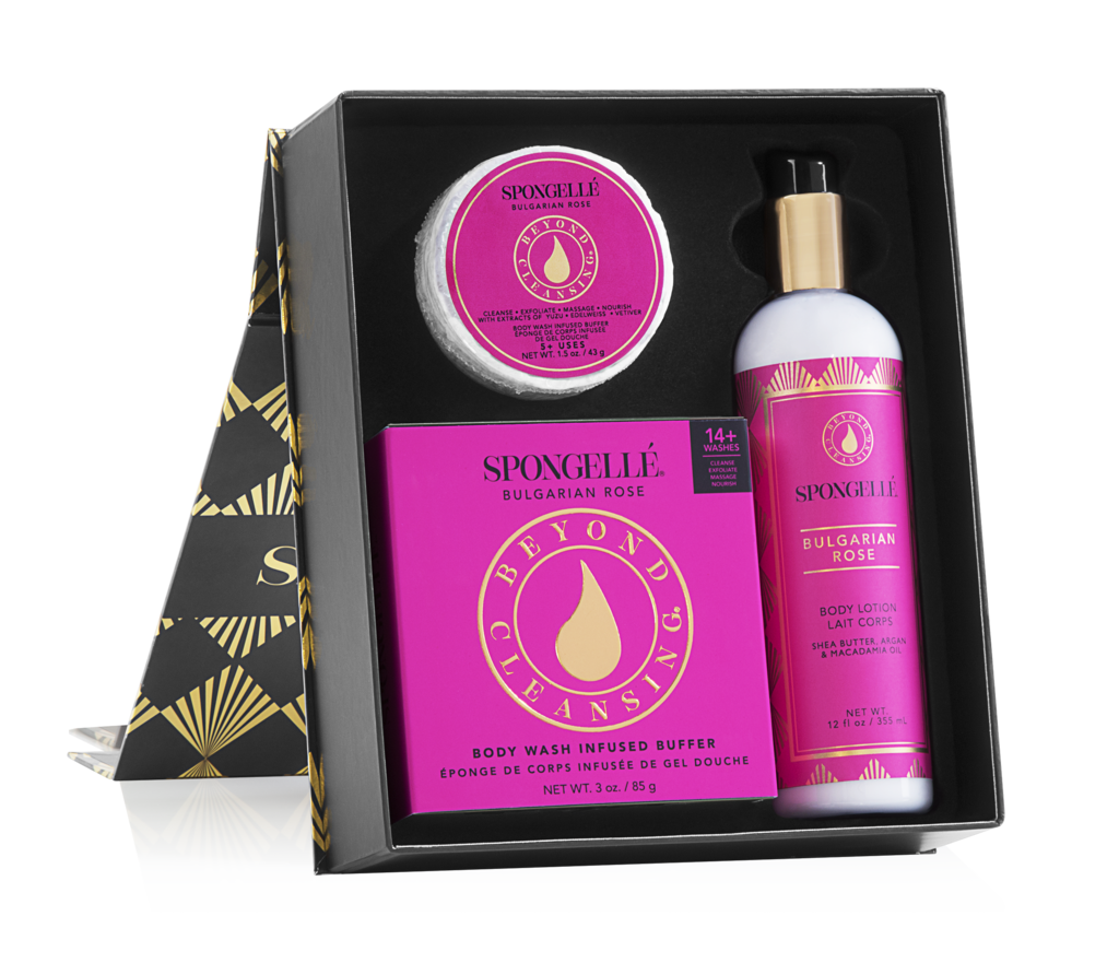 SPONGELLE - BOXED GIFT SET: BULGARIAN ROSE
