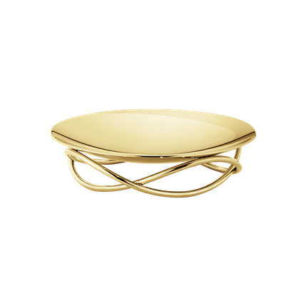 Georg Jensen - GLOW DISH, MEDIUM, GOLD PLATED