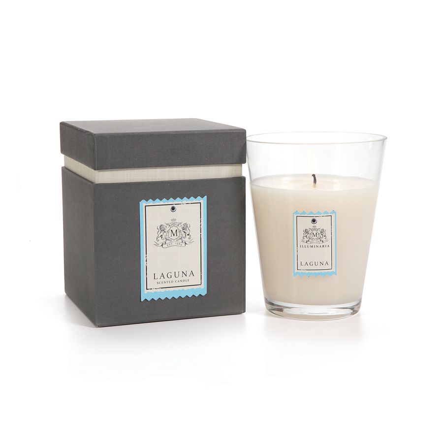 ILLUMINARIA SCENTED CANDLE JAR IN GIFT BOX - SMALL