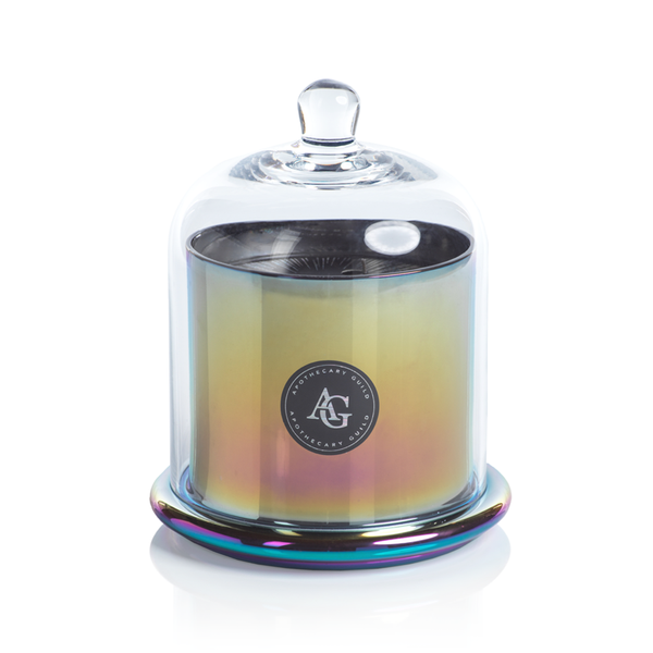 Apothecary Guild Rainbow Jar with Dome - Large APOTHECARY GUILD RAINBOW JAR WITH DOME - BLACK FIG VETIVER - LARGE