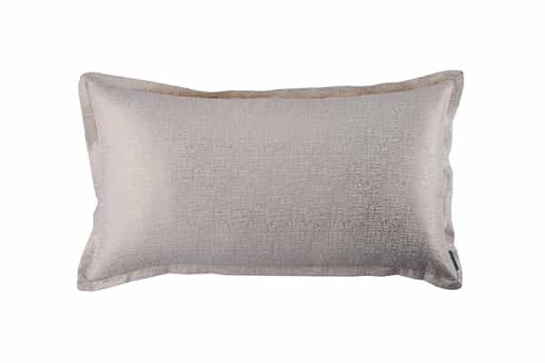 SOPHIA KING PILLOW IVORY LINEN / GOLD LUREX 20X36 (INSERT INCLUDED)