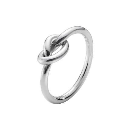Georg Jensen - LOVE KNOT RING - STERLING SILVER