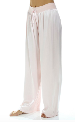 PJ HARLOW - JOLIE Satin Pant in Blush