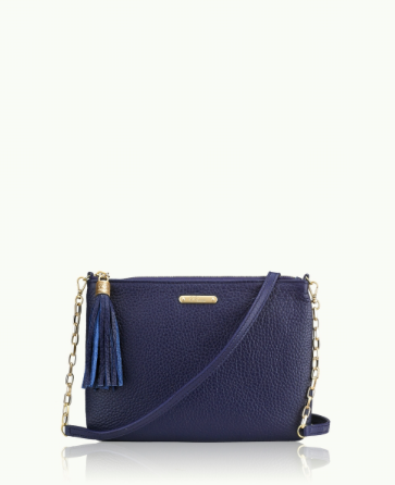 GiGi New York - Chelsea Crossbody Pebble Grain Leather Bag