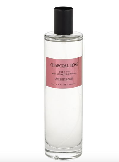 Archipelago Botanicals - Charcoal Rose Body Oil