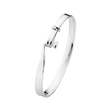GEORG JENSEN - TORUN BANGLE - STERLING SILVER