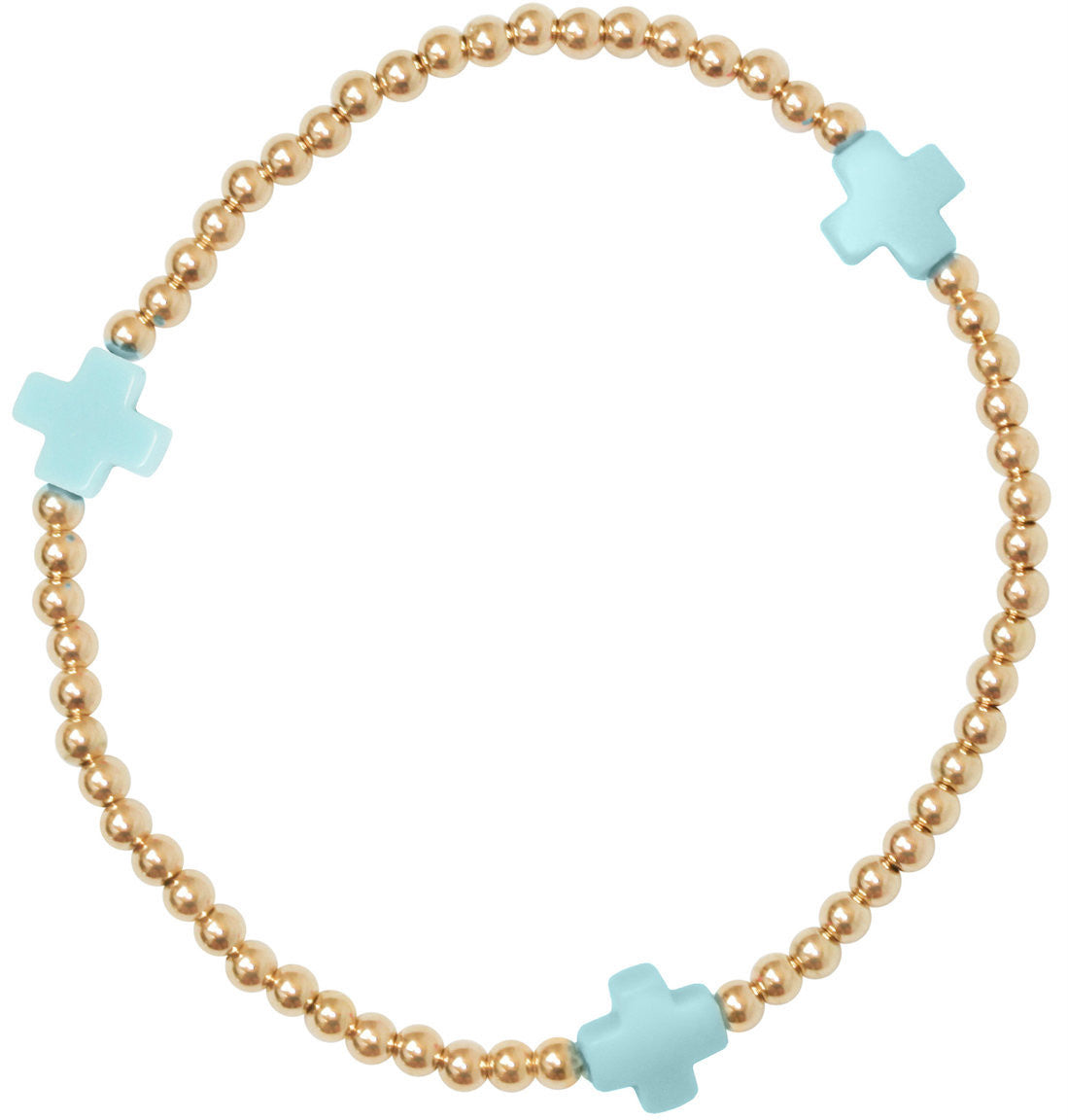 ENEWTON DESIGN - SIGNATURE CROSS BRACELET - GOLD