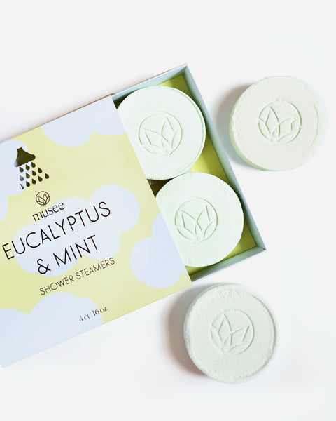 EUCALYPTUS 7 MINT SHOWER STEAMERS
