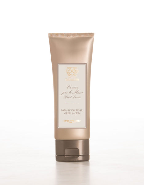 ANTICA FARMACISTA - 2.5 OZ HAND CREAM IN DAMASCENA ROSE, ORRIS & OUD