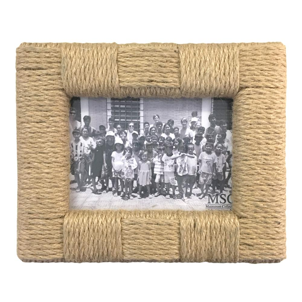 Mainstreet Collection - Rope 5x7 Landscape Picture Frame