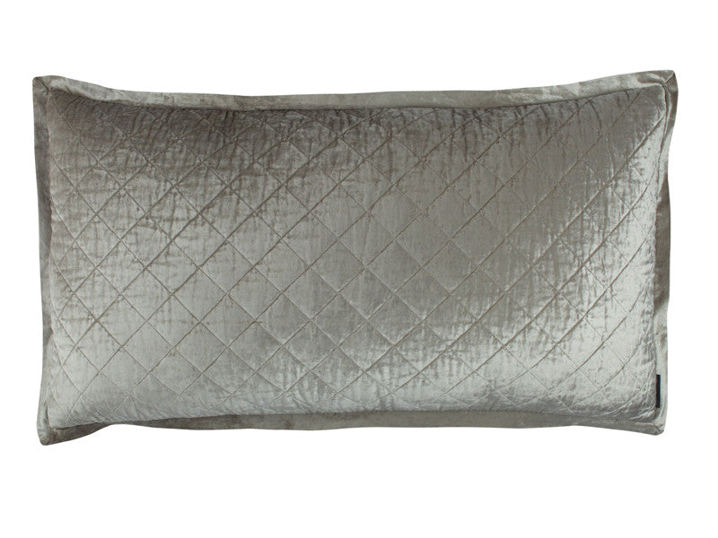 LILI ALESSANDRA CHLOE ICE SILVER VELVET LUXURY COVERLET & BEDDING
