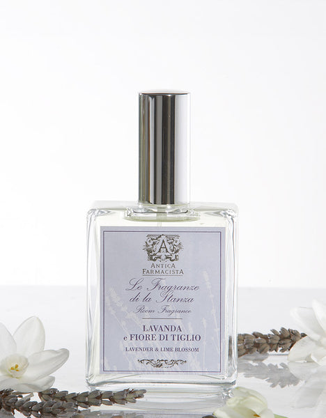 Antica Farmacista - 100ML ROOM SPRAY LAVENDER & LIME BLOSSOM