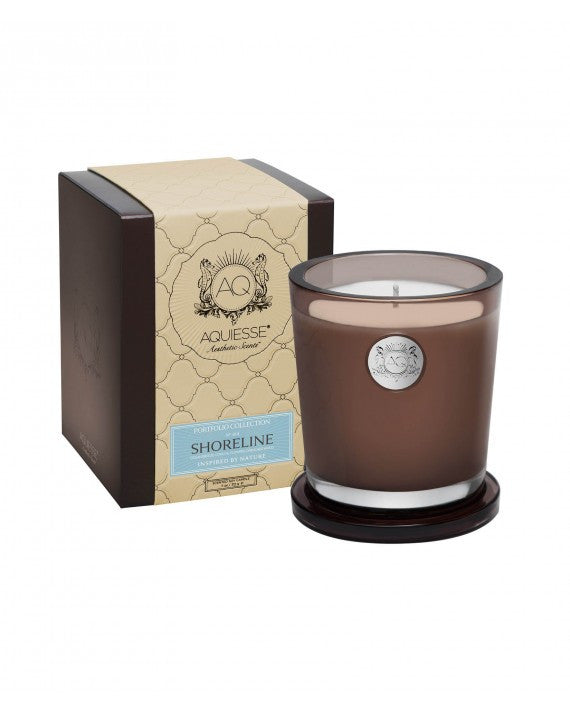 AQUIESSE CANDLE ~ LARGE SOY CANDLE/GIFT BOX