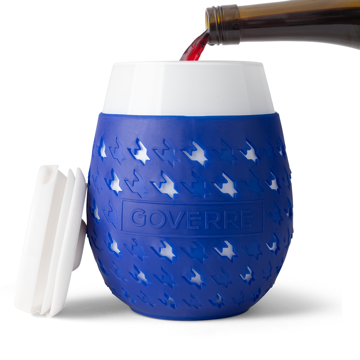 Goverre Portable Wine Glass (Navy)