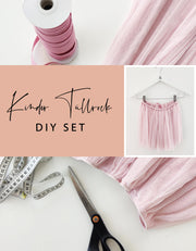 DIY SET - Kinder Tüll Rock kurz