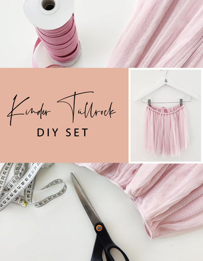 DIY SET - Kinder Tüll Rock midi